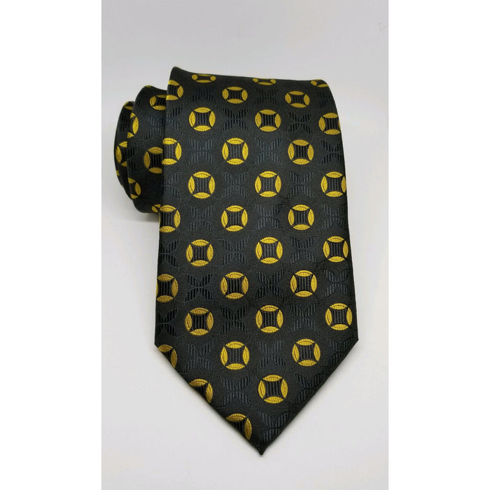 Black and Old Gold (Alpha Inspired) Tie