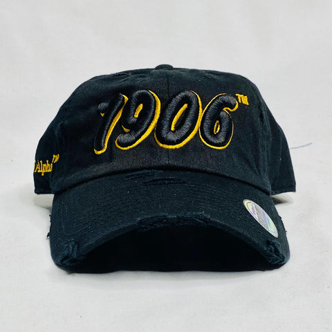 Alpha Black 1906 Dad Hat