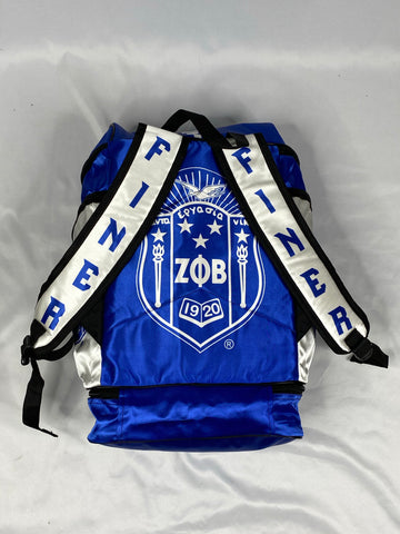 Zeta Phi Beta Backpack