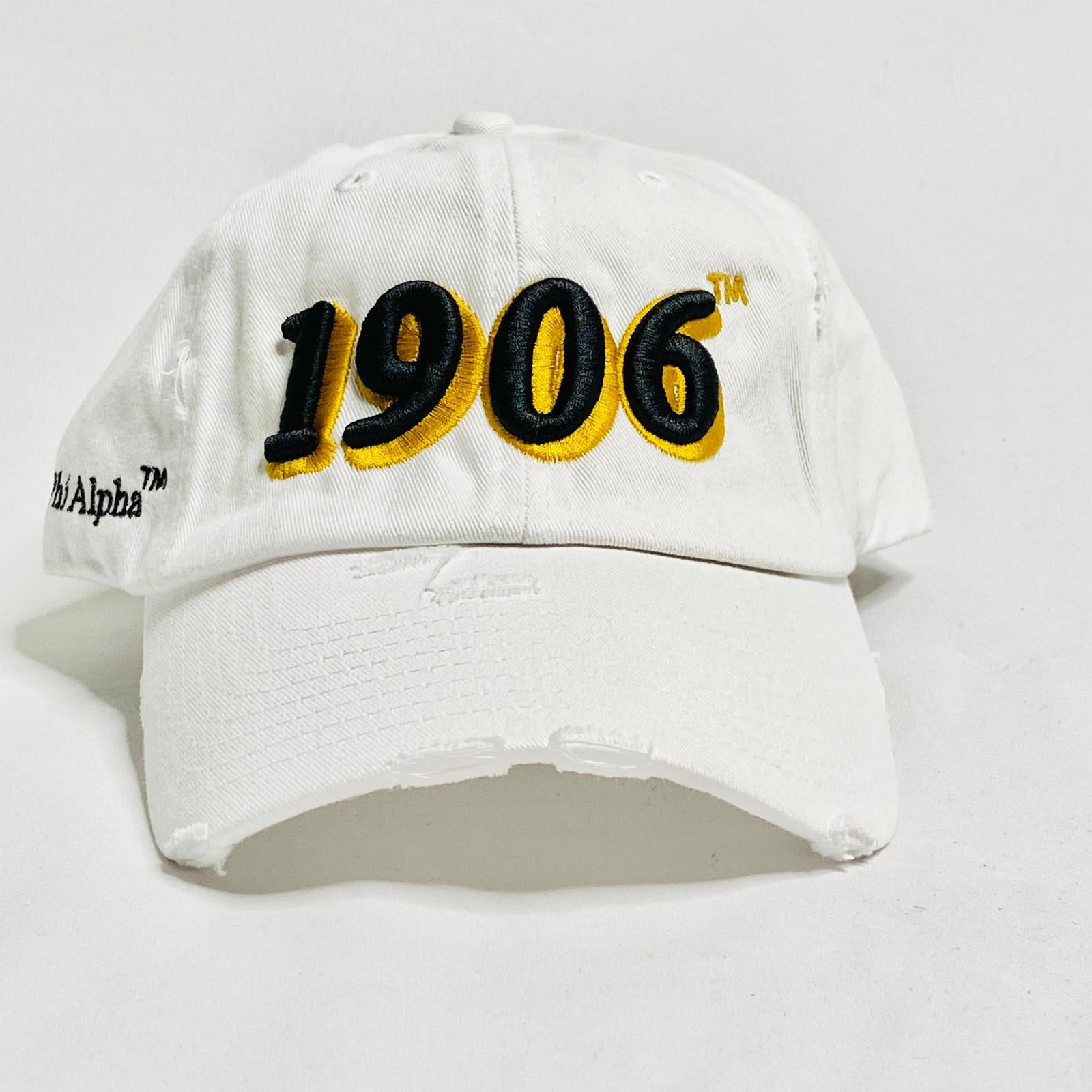 Alpha 1906 White Dad Hat