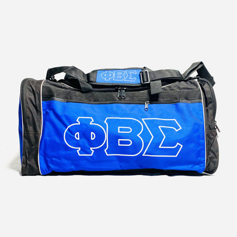 Black Phi Beta Sigma Duffle-Bag