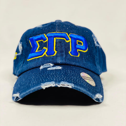 Sigma Gamma Rho Dark Denim Hat