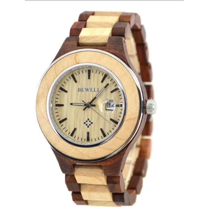 Men's Maple & Red Sandalwood Watch