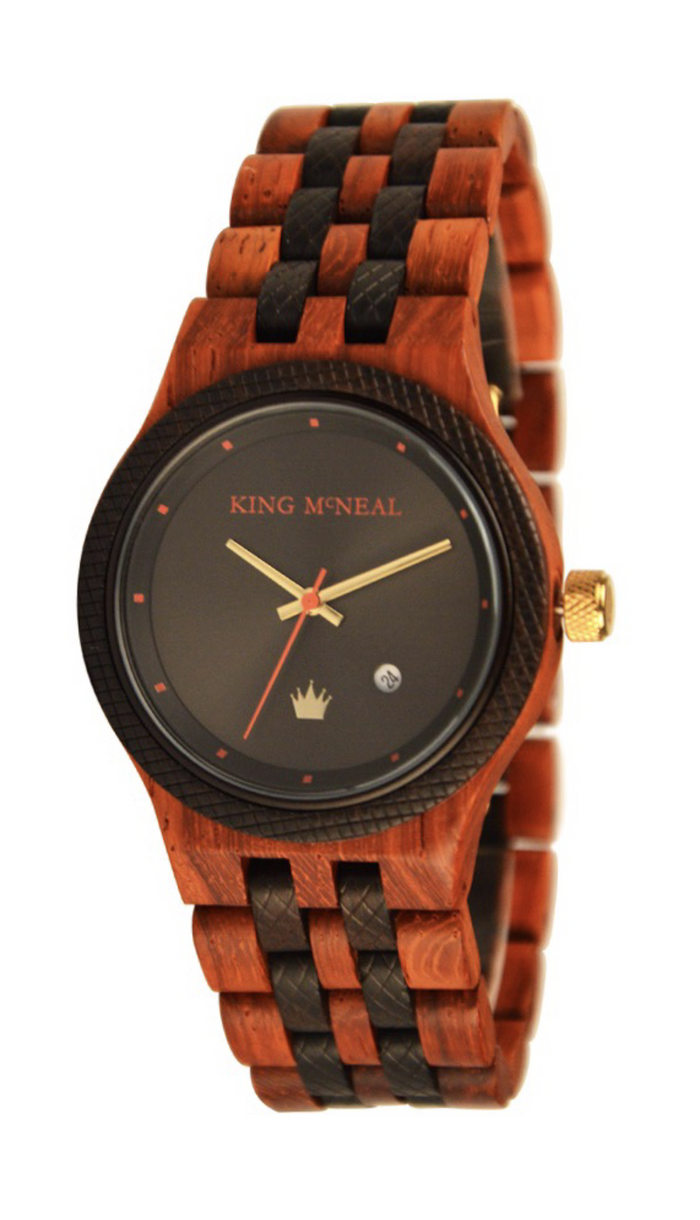 "Official ""The King"" Wooden Watch"