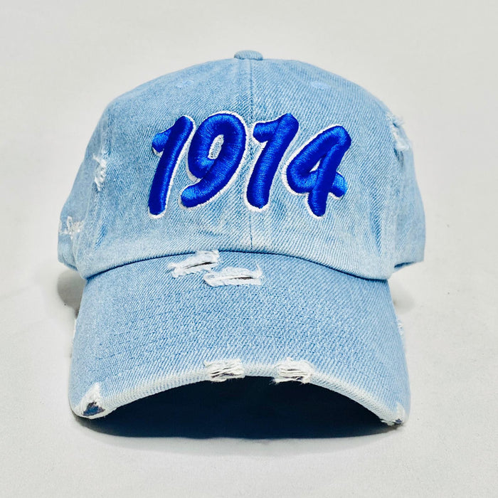 Light Denim 1914 Phi Beta Sigma dad hat