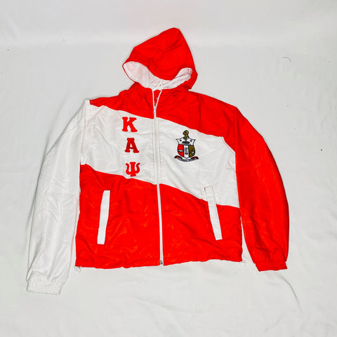 Kappa Striped Windbreaker Jacket