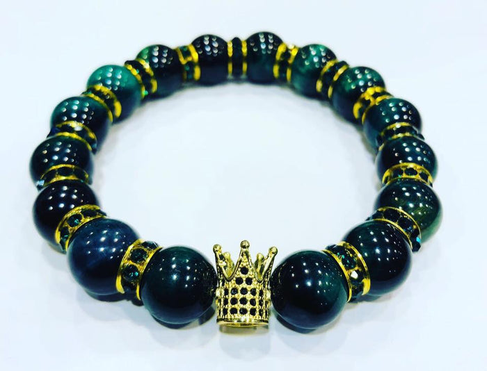 Royal tigers eye green