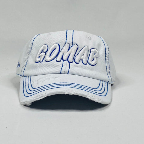 Phi Beta Sigma White Denim GOMAB dad hat