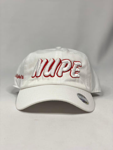 Kappa Nupe White dad hat