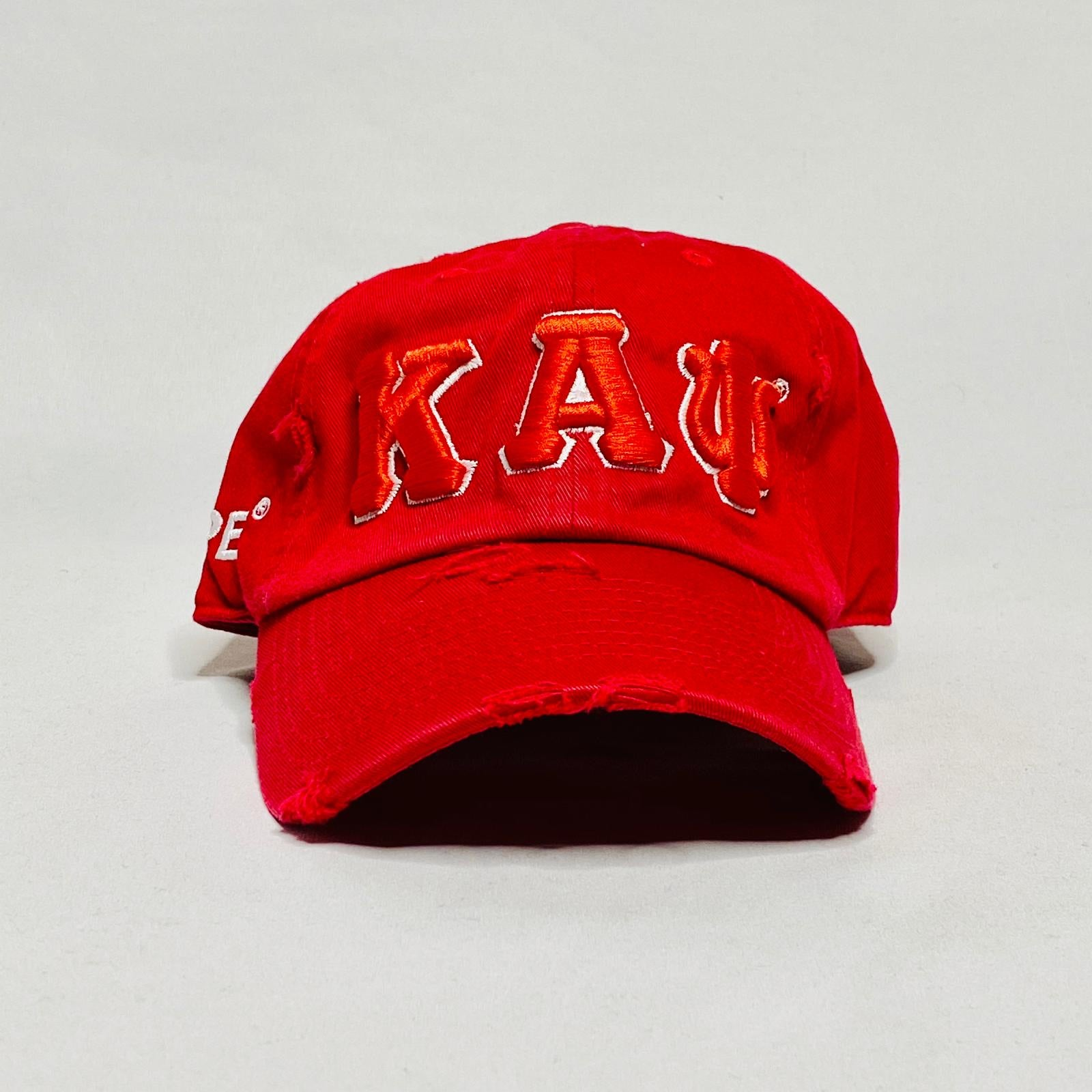 Kappa Alpha Psi red dad hat