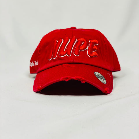 Kappa Alpha Psi NUPE red dad hat
