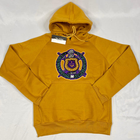 Omega Gold Crest Chenille Hoodie