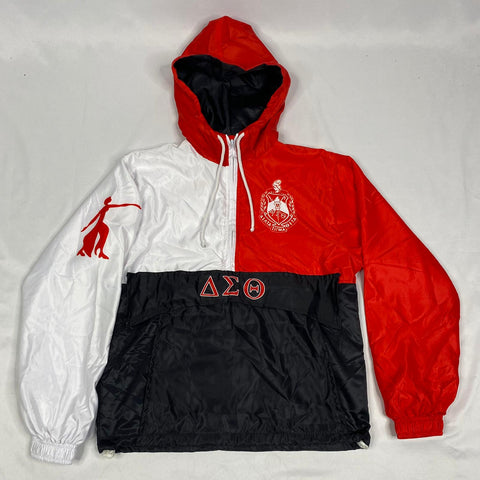 Delta Red White windbreaker Jacket