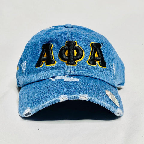 Alpha Denim Dad Hat