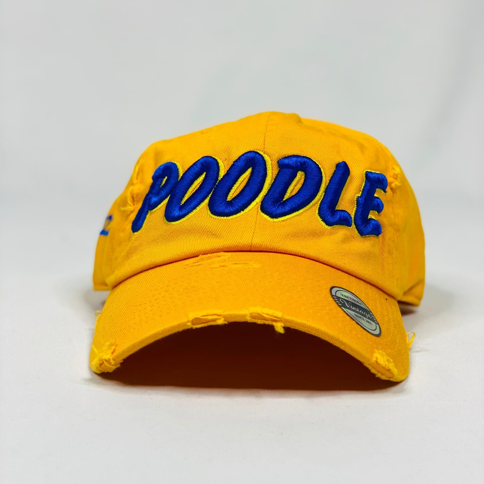 Sigma Gamma Rho Poodle Gold Hat
