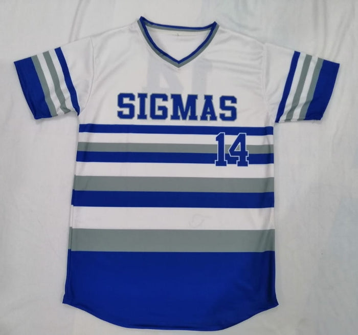 Phi Beta Sigma Stripped Baseball Jersey