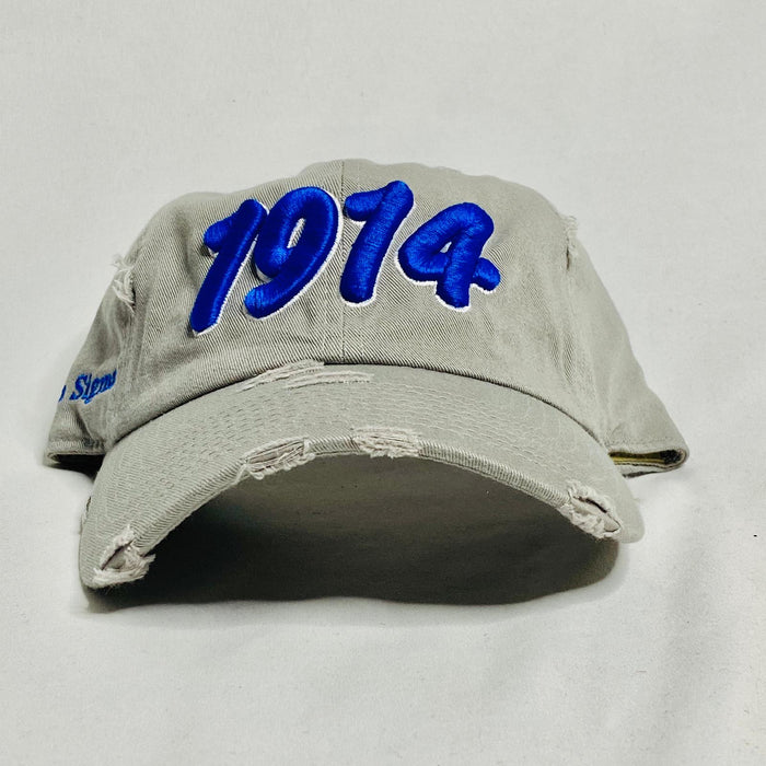 Grey 1914 Phi Beta Sigma dad hat