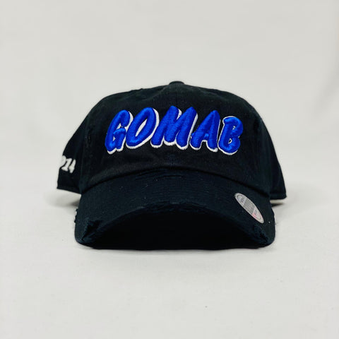 Phi Beta Sigma GOMAB black dad hat
