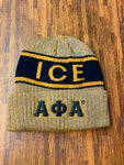 Alpha Grey Beanie Hat