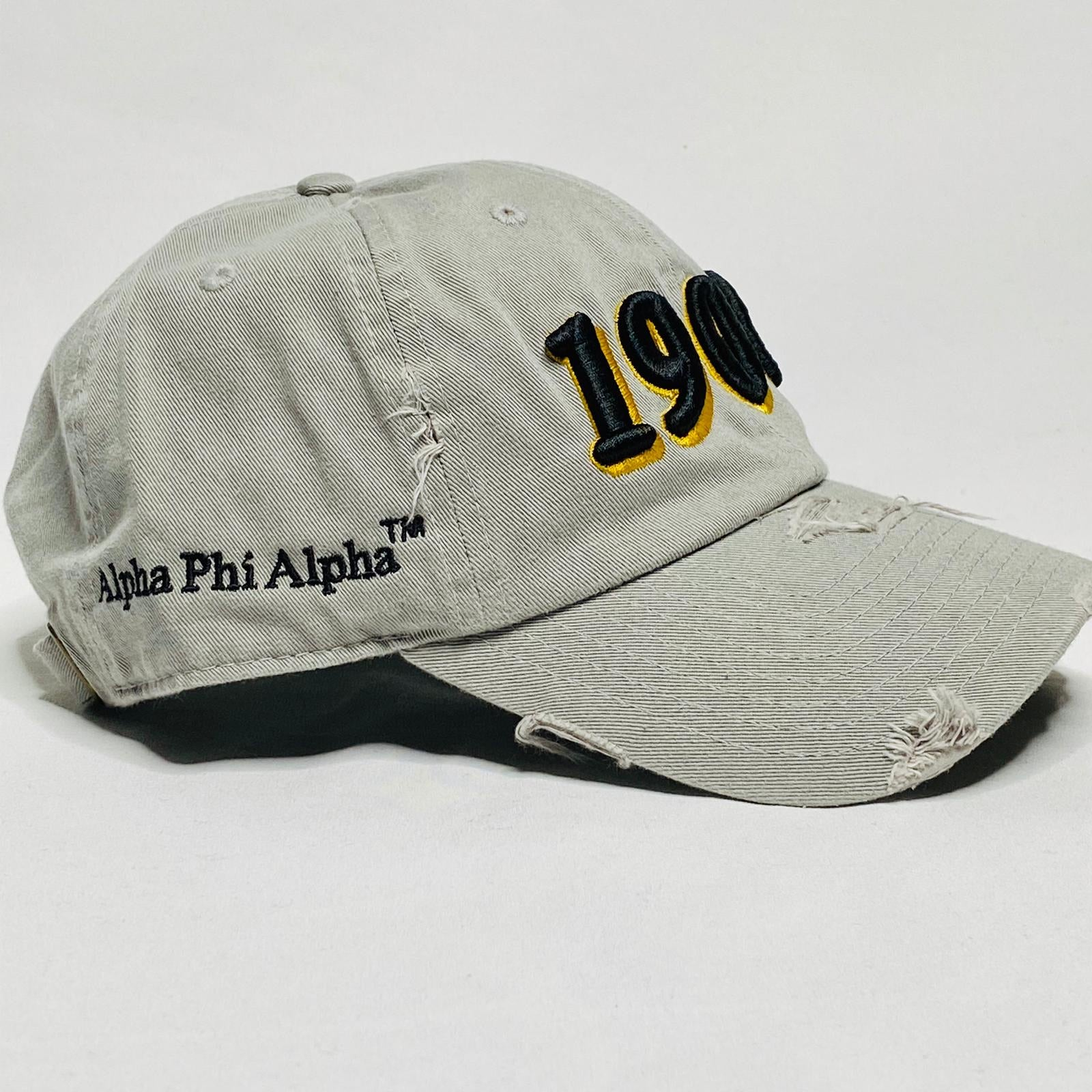 Grey Alpha 1906 Black Dad Hat