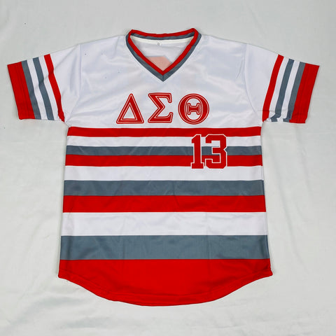 Delta Striped Baseball Jersey