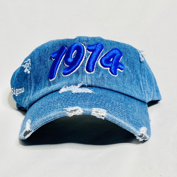Denim 1914 Phi Beta Sigma dad hat