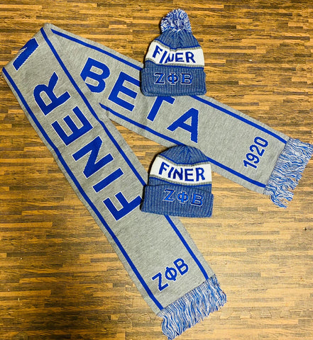 Zeta Finer Women Grey Scarf and One Hat