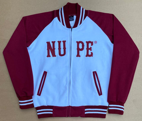 NUPE Baseball Fleece Jacket