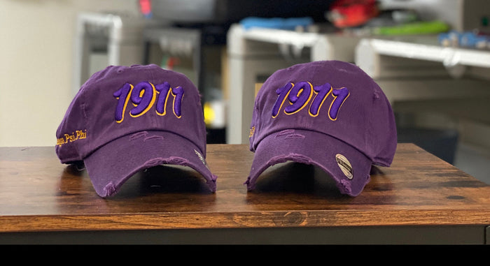 Purple Omega 1911 dad hat