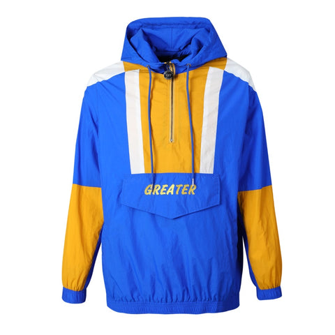 SGRho Half Zip Windbreaker Jacket Read Description