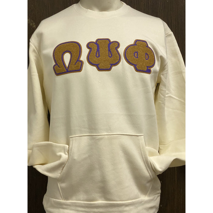 Omega Psi Phi Pocket Crewneck