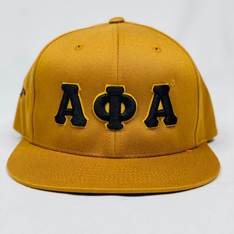 Alpha Gold SnapBack Hat