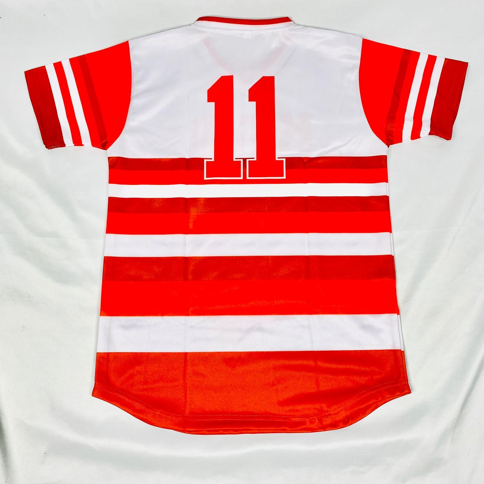 Kappa Stripped Baseball Jersey