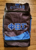 Phi Beta Sigma Backpack Black