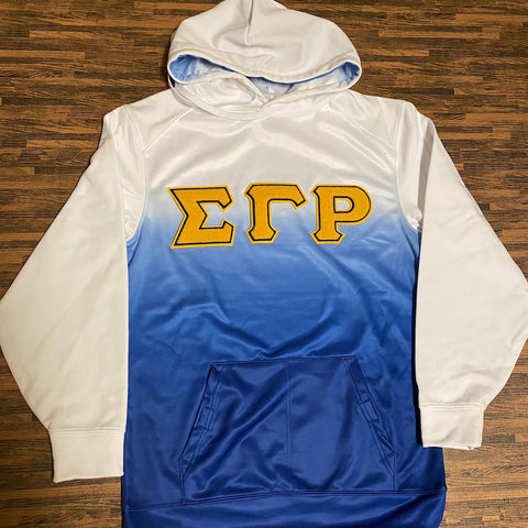 SGRho Ombre Chenille Hoodie