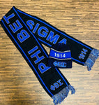 Black Sigma Scarf and Hat Set