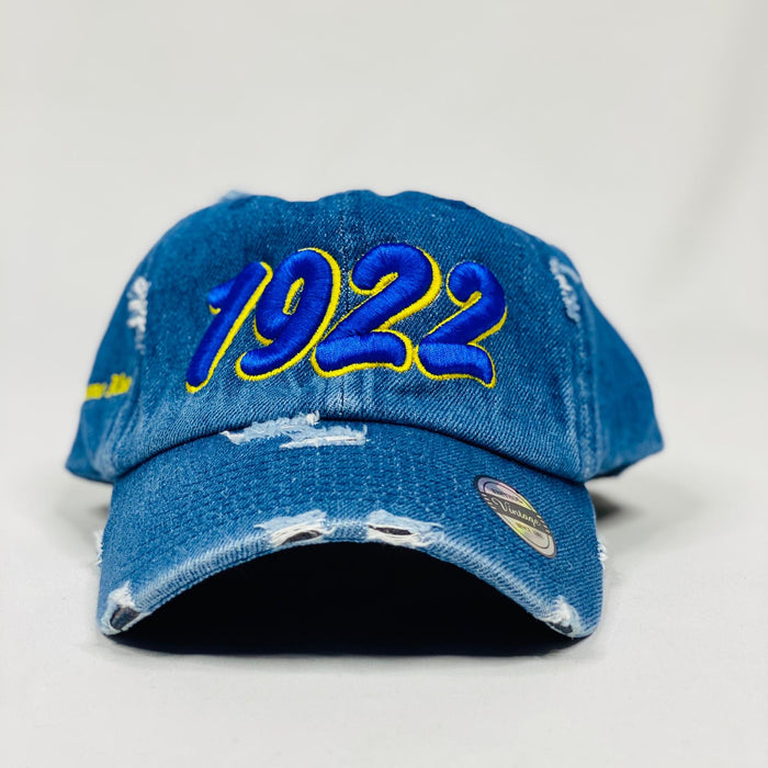 Sigma Gamma Rho 1922 Denim Hat