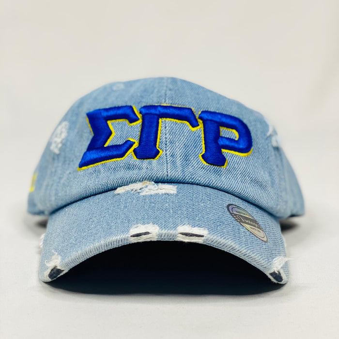 Sigma Gamma Rho Light Denim Hat