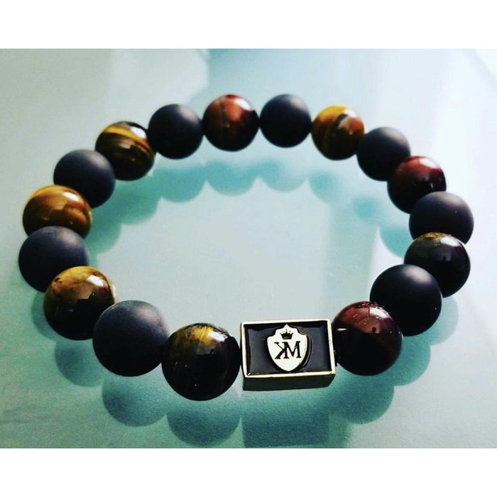 Multi Tigers Eye with black matte