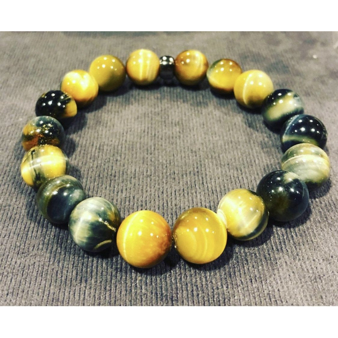 Gold and Blue tigers eye