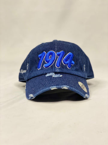 Dark Denim 1914 Phi Beta Sigma dad hat