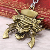 Gentlemans Swag Keychain Gold Guns N' Roses Keychain
