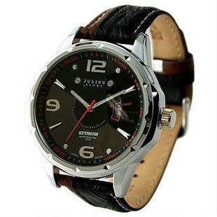 Gentlemans Swag Watches Default Title Julius Leather Quartz Watch