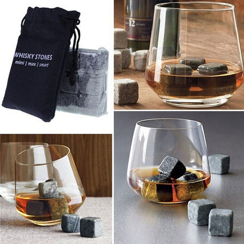 Gentlemans Swag Whiskey Stones 9pcs Natural Whiskey Stones