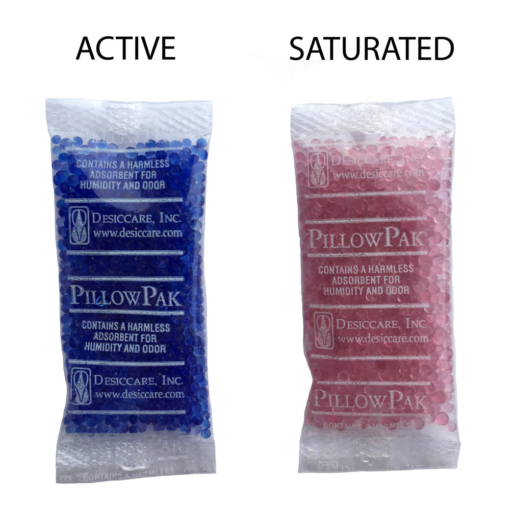 <center>Recharging Interteck Silica Gel