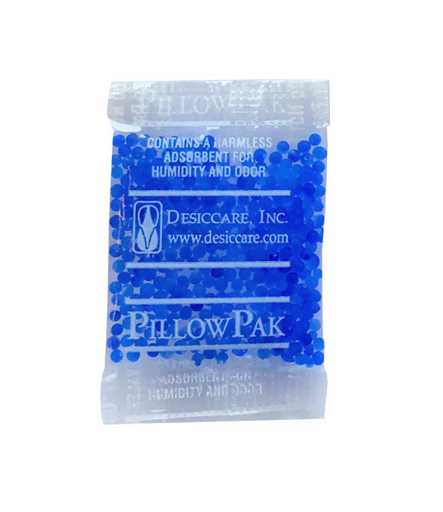 0.5 Gram Blue Indicating Silica Gel Packets Desiccant and Dehumidifier