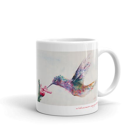 Hummingbird of Hope Mug