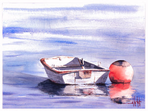 A Bouy and His Boat