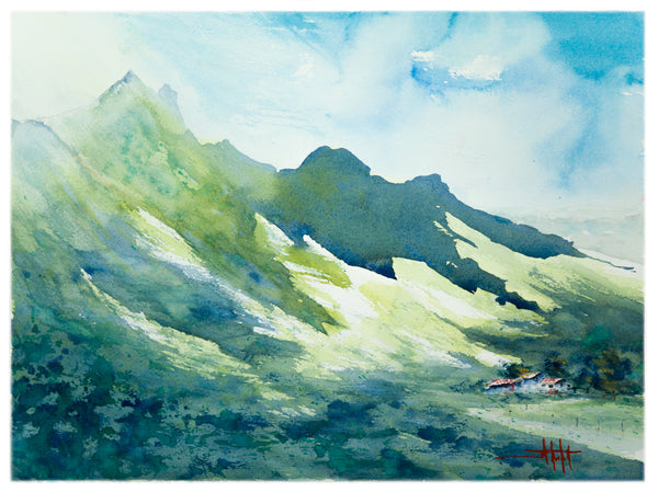 Emerald Mountains *Fine Art Prints