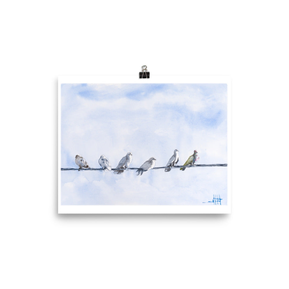 Bird Party *Fine Art Prints!